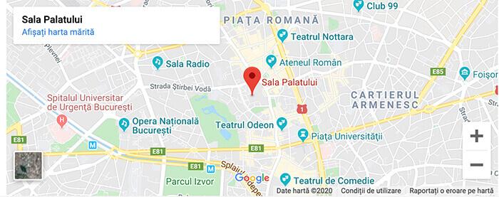 Locatie Angajatori de TOP Bucuresti