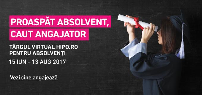 Targul Virtual Hipo.ro pentru Absolventi! – editia 2017