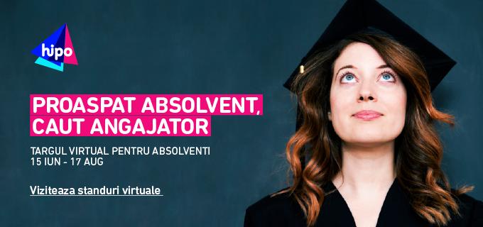 Targul virtual HiPo.ro pentru absolventi! – editia 2016