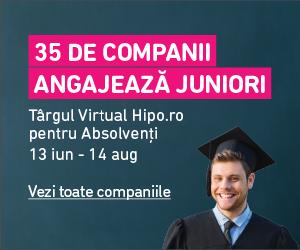 Targul Virtual Hipo.ro pentru Absolventi 2016