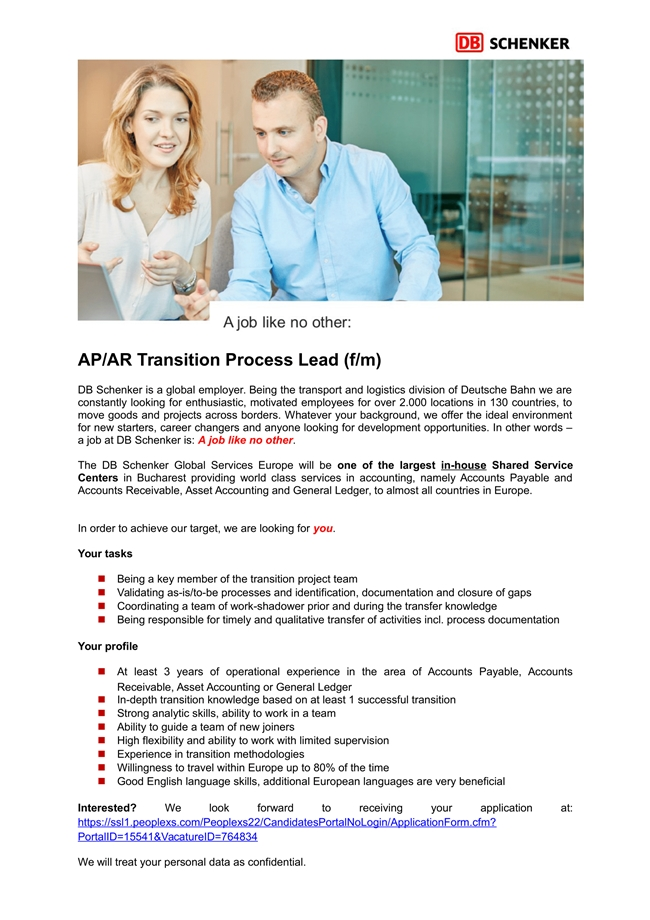ap  ar transition process lead