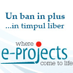 Banner e-projects.ro
