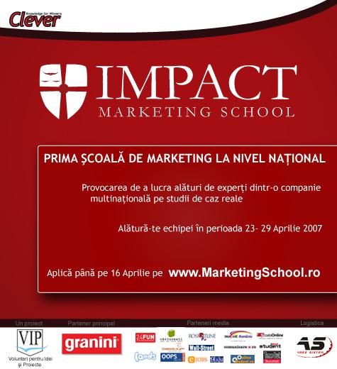Impact Volutari pentru Idei si Proiecte